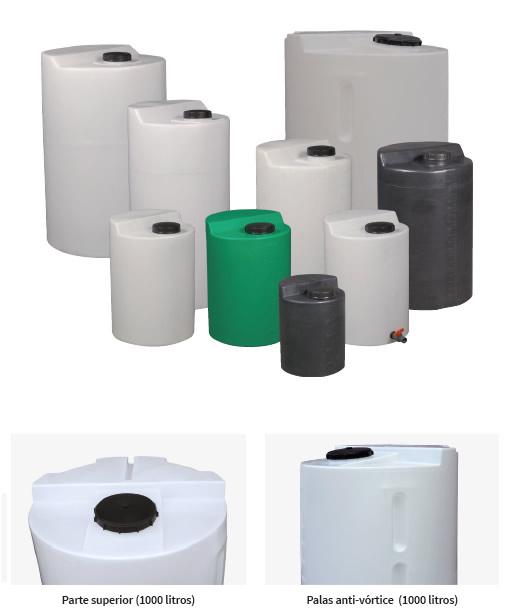 Tanques y depositos dep sitos polietileno tanques for Depositos de 1000 litros